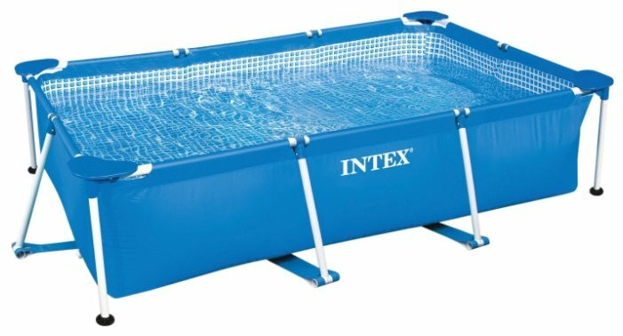Бассейн INTEX RECTANGULAR FRAME 260*160*65